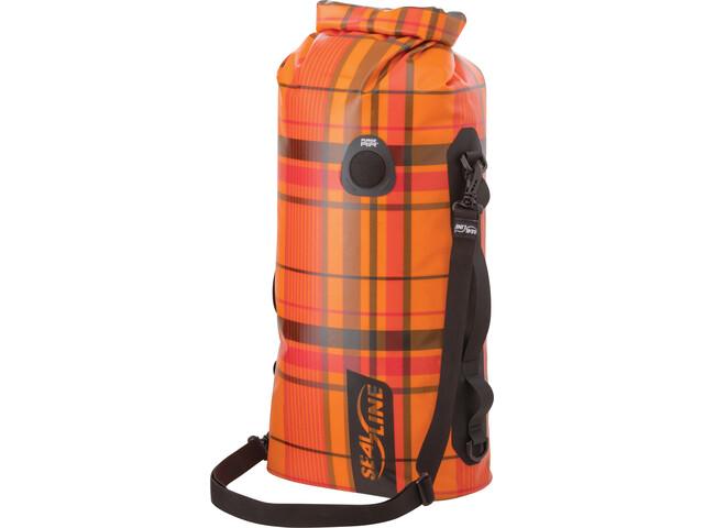 SealLine Discovery Dry Bag 20l orange plaid